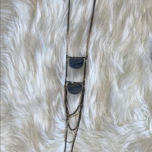 2 Stone Necklace